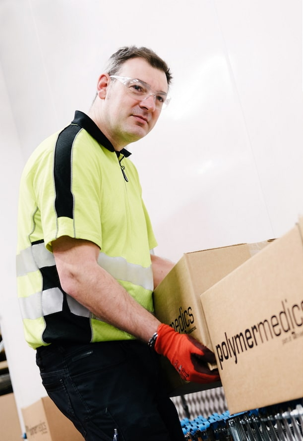 logistics services - Polymermedics