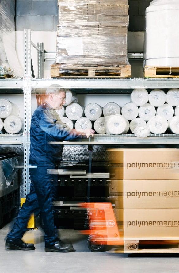 logistics solutions - Polymermedics