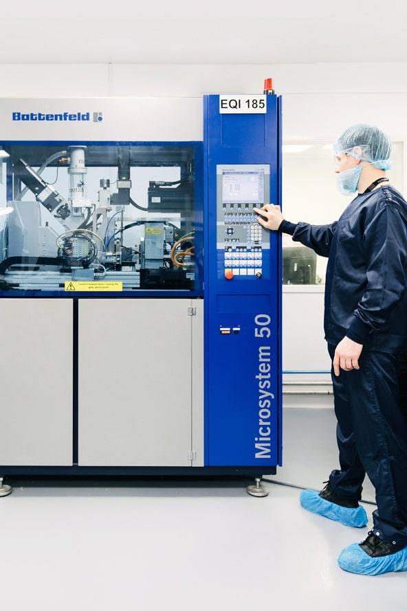 Micro-moulding - Polymermedics