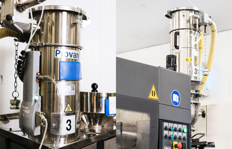 gravimetric blenders machines